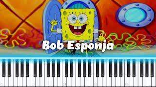 💙Como Tocar Tema Final - Bob Esponja, Steve Belfer - Piano Tutorial💙