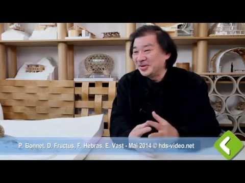 Entretien avec Shigeru Ban, l'architecte de la future cité musicale départementale
