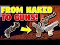 FROM NAKED TO GUNS! | Rust Solo Survival S07E04