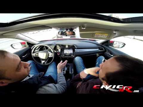 2017 Honda Civic RS 1.5 Turbo 182hp Test Sürüşü
