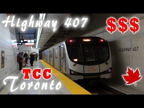 Учения в Канаде или как легко заработать $$$ в Торонто   Эвакуация TTC Highway 407   Жизнь в Канаде