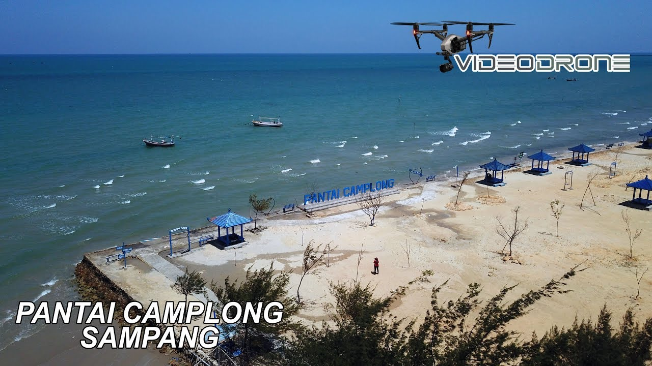 PANTAI CAMPLONG SAMPANG [ Drone Video ]