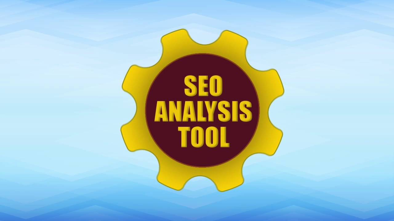 SEO Analysis Tool - Test Your Website SEO - YouTube