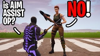 Asking my Random Duos - is Aim Assist for Controller Overpowered? (Day 2)
