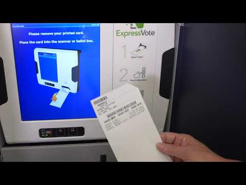 THE VOTING EXPERIENCE in Collin County