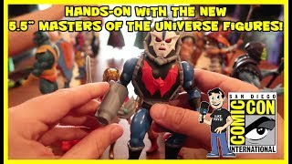 """Masters of the Universe Hands-On with the new Vintage Style 5.5"""" Super7 Figures at SDCC"""