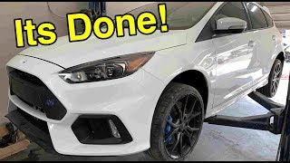 Samcrac's Salvage Ford Focus RS Is Rebuilt!Time for drift mode!