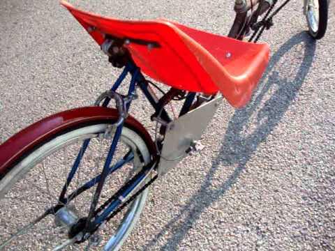 Recumbent Bicycle Homemade Youtube