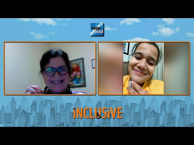 Verônica Hipólito fala sobre superação e determinação no Programa Inclusive