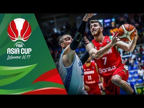 Kazakhstan v Lebanon - Highlights - FIBA Asia Cup 2017