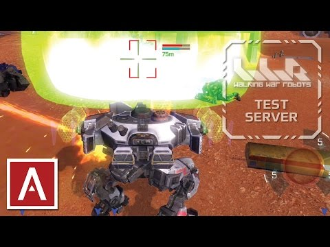 War Robots Sneak Peek - NEW Pulse Weapons (light, medium, heavy) and Gameplay - iOS Test Server