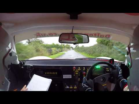 John Dalton And Gwynfor Jones In The Darian GTR Irish Rally 4