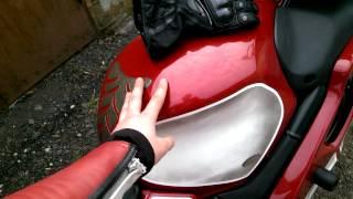 Как снять натяжитель цепи грм Honda CBR600 F4I
