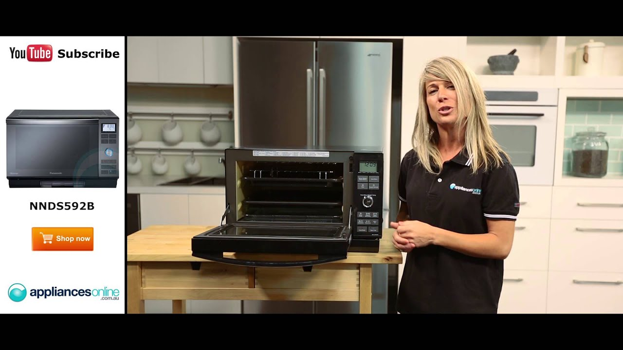 Panasonic Combination Steam Microwave NNDS592B Reviewed By Product Expert Appliances Online