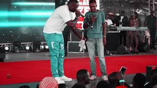 Khaligraph Jones Removes Shoes On Stage | Defeated Blaze Summit