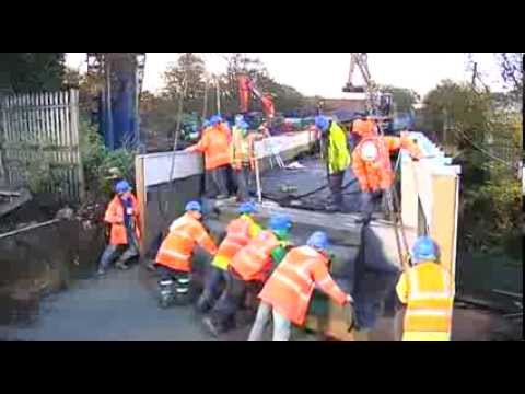 Coffee Construction Replacement of Railway Bridge