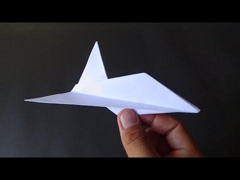 Origami Pesawat Jet-Membuat Pesawat Jet Dari Kertas