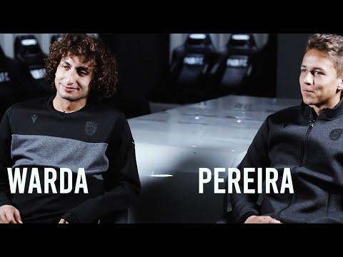 1 on 1 Quiz: Warda Vs Pereira - PAOK TV