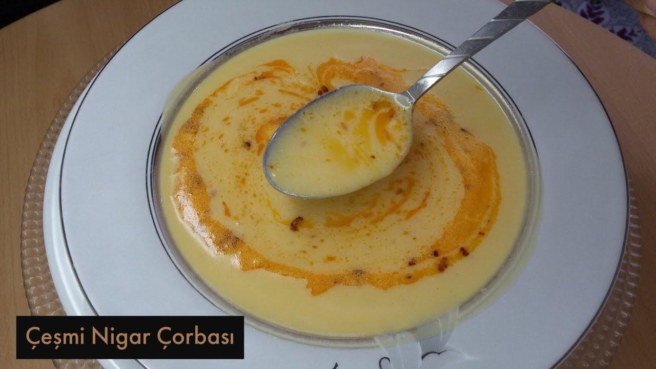 Çeşmi Nigar Çorbası Tarifi - Naciye Kesici - Yemek Tarifleri