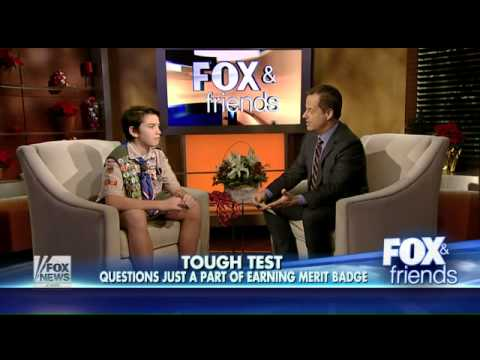 11-year-old becomes youngest to advance to Eagle Scout rank