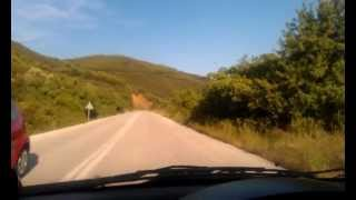 Греция (июнь 2012) Серпантин Горы на юге острова Ситория(Это видео загружено с телефона Android., 2012-06-07T12:50:00.000Z)