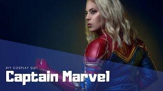 DIY Captain Marvel Suit MCU