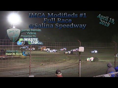 (IMCA) Modifieds #12, Full Race, Salina Speedway, 04/19/19