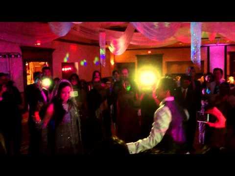 Reception dancing - DJ NISH