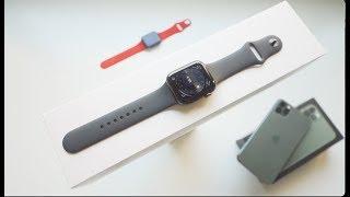 فتح علبة ساعة أبل الجيل الخامس Apple watch series 5