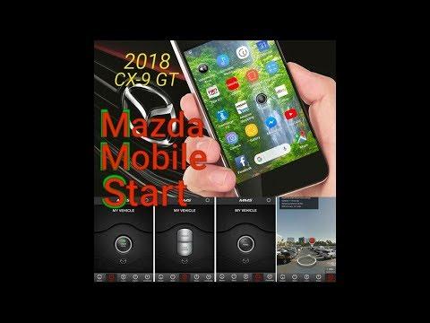 Mazda Mobile Start App MMS CX 9 GT 2016, 2017, 2018, 2019 CX9 GT