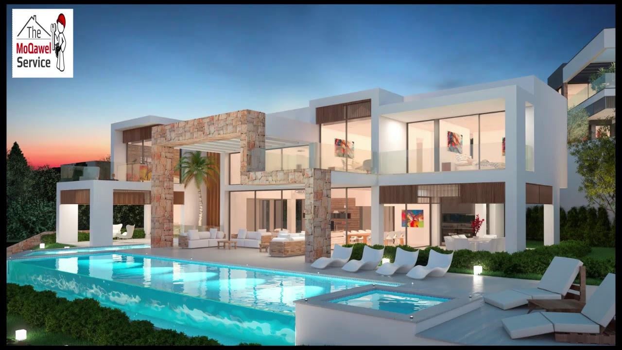 Modern Villas Designs Very New Economic Designs 2018
