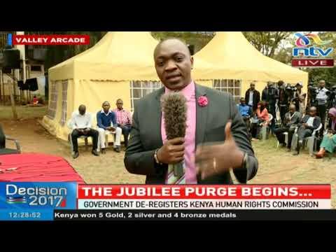 Government de-registers Kenya Human Rights Commission