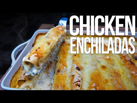 The Best Chicken Enchiladas | SAM THE COOKING GUY 4K
