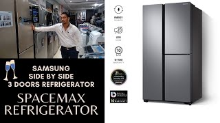 Samsung 689 L Frost Free Side by Side Inverter Technology Star Refrigerator 3 Door Refrigerator