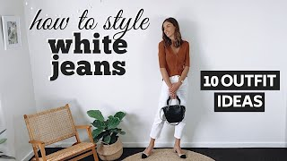HOW TO WEAR WHITE JEANS | 1 Pa…