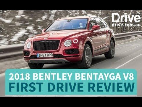 2018 Bentley Bentayga V8 First Drive Review   Drive.com.au - Dauer: 4 Minuten, 37 Sekunden
