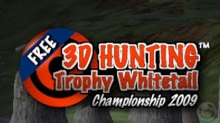 3D Hunting? Trophy Whitetail Free - iPhone Gameplay Video