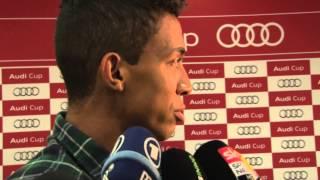 """Luiz Gustavo: """"Bis zum 31. August kann alles passieren""""   FC Bayern beim Audi Cup"""
