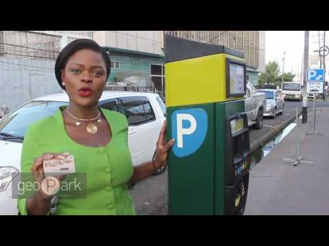 How to use GeoPark , smart Parking Meters.