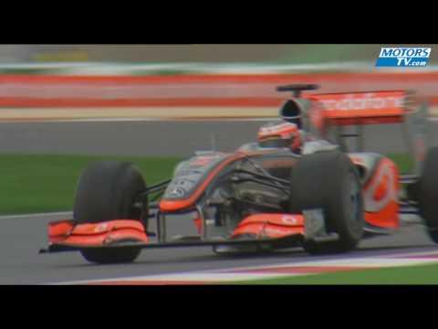 Lewis Hamilton Mclaren Mercedes 2009 test
