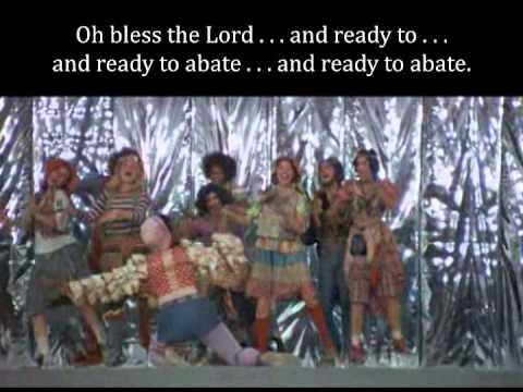 Oh Bless The Lord Godspell Lyrics Youtube