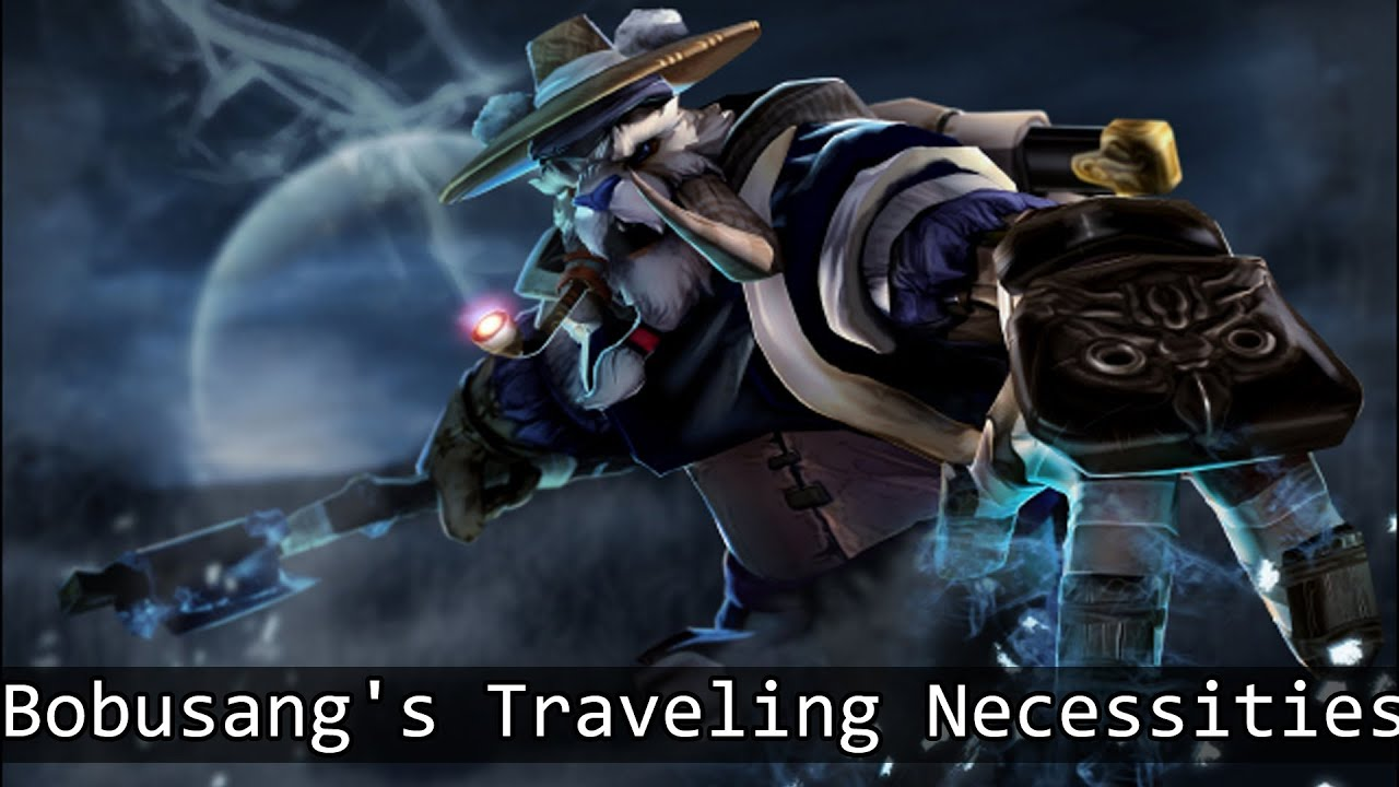 dota 2 items tusk bobusang s traveling necessities set review