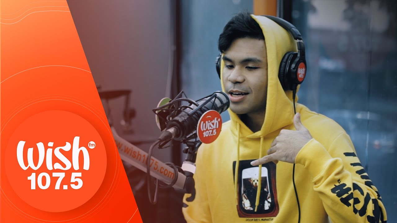 """Michael Pacquiao performs """"Hate"""" LIVE on Wish 107.5 Bus"""
