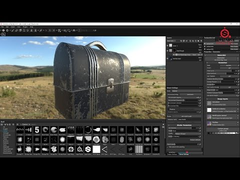 Creating wear and tear in Substance painter