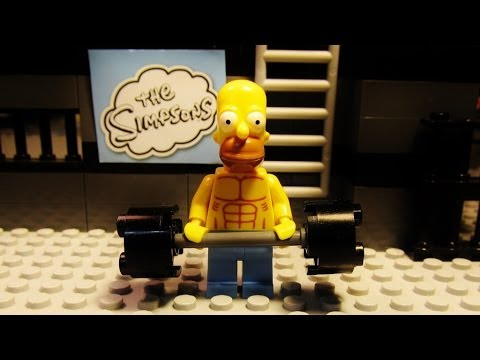 "LEGO Simpsons ""Gym"""