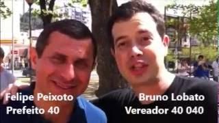 Gambar cover Começou a campanha!!! Bruno Lobato 40 040 e Felipe Peixoto 40