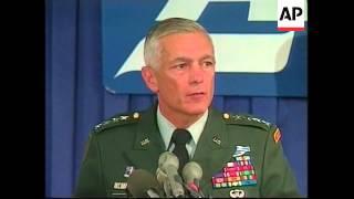 USA: NATO COMMANDER WESLEY CLARK ADDRESS