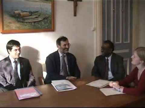 Interview of  Eduardo Missoni Secretary General  and Arturo Romboli External Relations of