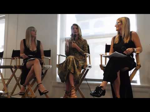 Angela Lindvall speaking at Do Good, Be Green Health & Beauty Conference