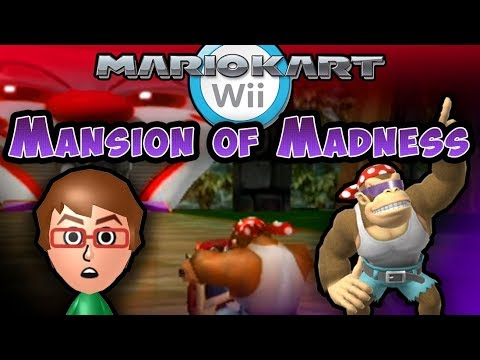 Mario Kart Wii Custom Track: Troy vs Mansion of Madness